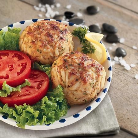 If you like Maryland crab cakes, you will love this classic crab cake recipe featuring fresh lump crabmeat that is sensationally seasoned with OLD BAY...