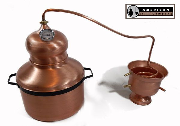 6 Gallon Traditional Onion Head Copper Pot Still