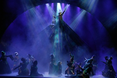 'Wicked' tour features strong cast in its return to Baltimore. Elphaba, Wicked Witch of the West Defying Gravity