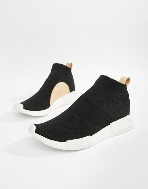 4b68cb77e adidas Originals NMD CS1 PK Sneakers In Black AQ0948