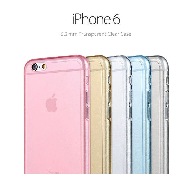 pastel color soft clear case for iphone 6 and iphone 6 plus - Colors For Iphone 6 Plus