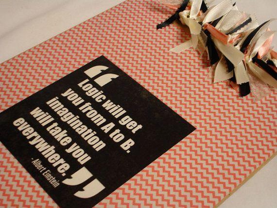 CHEVRON Teacher Clipboard Chalkboard Dots by kuteklipboardsbyamy