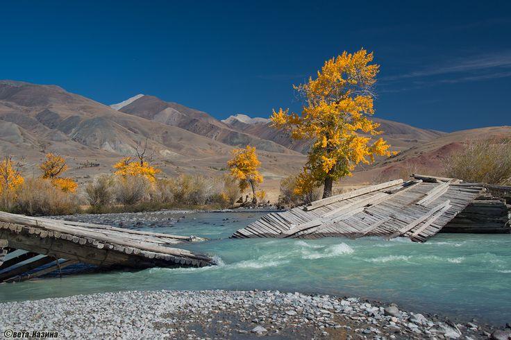 Altai region, Река Чаган-Узун, Кош-Агачский район
