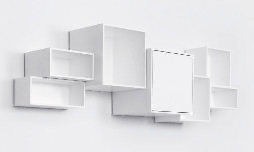 tag re murale design cube de rangement modulable cubit id e d co pinterest cube de. Black Bedroom Furniture Sets. Home Design Ideas
