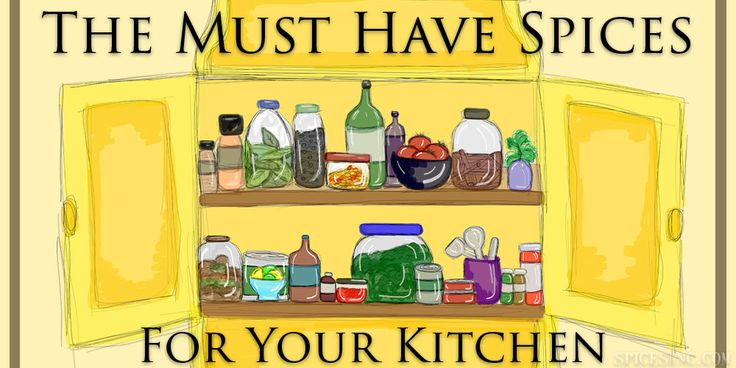 The Must Have Spices for Your Kitchen