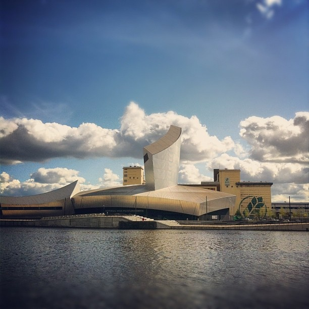 Imperial War Museum North in Salford, Manchester.