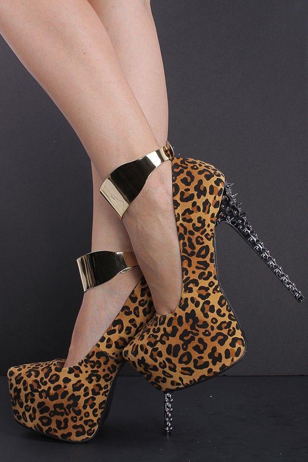 2014 nova moda leopardo plataforma rebite sapatos de salto alto 6 polegadas sapato mulheres bombas sandálias Femininos vestido escritório senhoras sapatos de marca