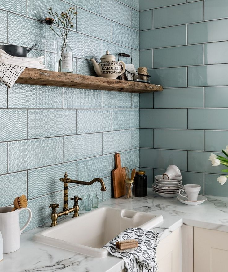 Best 25 topps tiles ideas on pinterest blue kitchen Tiling a kitchen wall design ideas