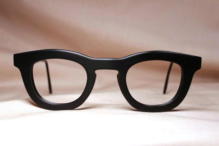 Custom Black Frame Glasses