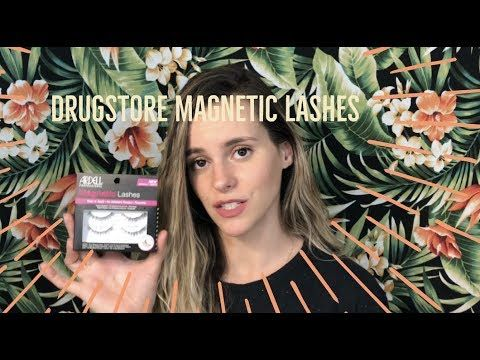 Magnetic Lashes from the Drugstore!!! | Ardell Lashes Review | Kena - YouTube