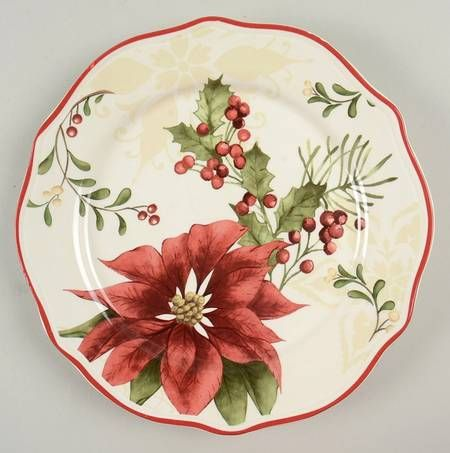 Better Homes And Gardens Winter Forest Salad Plate