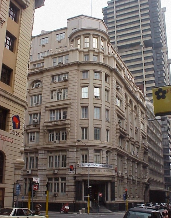 CONSOLIDATED BUILDING JOHANNESBURG