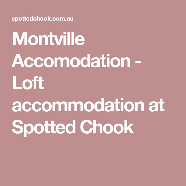 Montville Accomodation - Loft accommodation at Spotted Chook