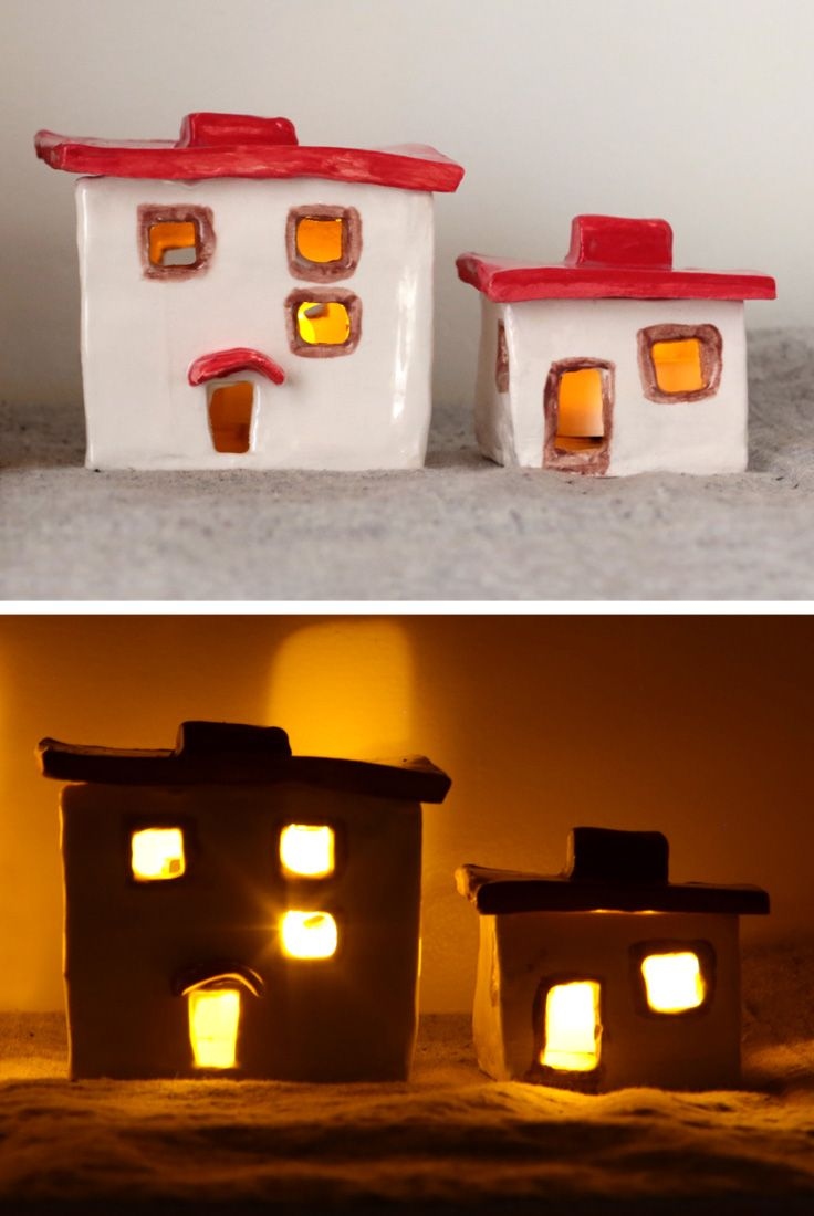 Art Class Crafts Candle Holders
