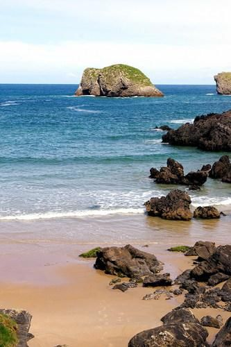 Playa de Sorraos, Barro Llanes, Asturias-  Spain [ HGNJShoppingMall.com ] #travel #shop #deals