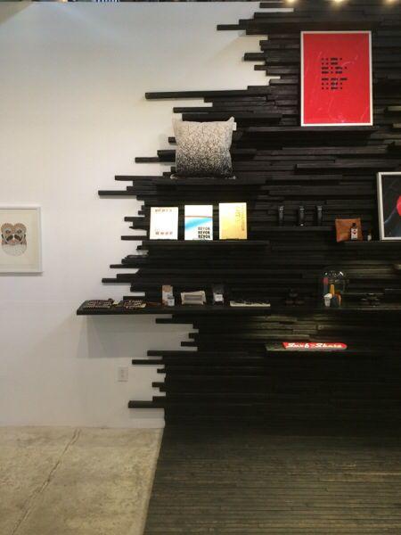 Shou-sugi-ban : black wood : burnt wood : wood art : www.paulramakers.nl