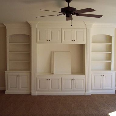 Built-in Entertainment Center Design Ideas, Pictures, Remodel, and Decor