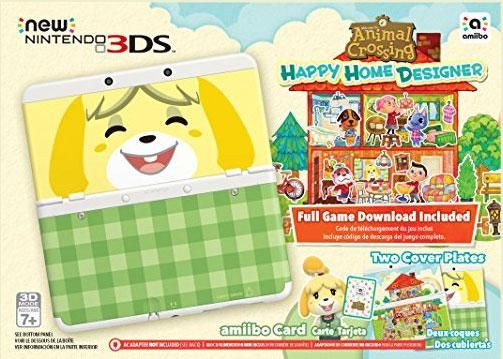 Nintendo Animal Crossing: Happy Home Designer + New 3DS Bundle http://astore.amazon.com/vdo95-20/detail/B0144K8KQW …