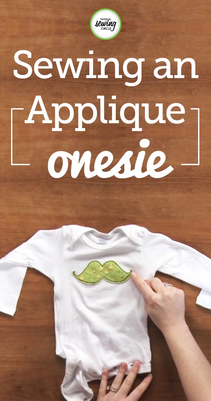 Stacy Grissom takes you through each step for adding applique to a baby onesie. Learn how to applique cute, little shapes onto onesies. See how fun and easy it is to personalize baby onesies! Find out what materials you will need and specific fabrics work best. Use these helpful tips and start making an adorable applique onesie for your little one!