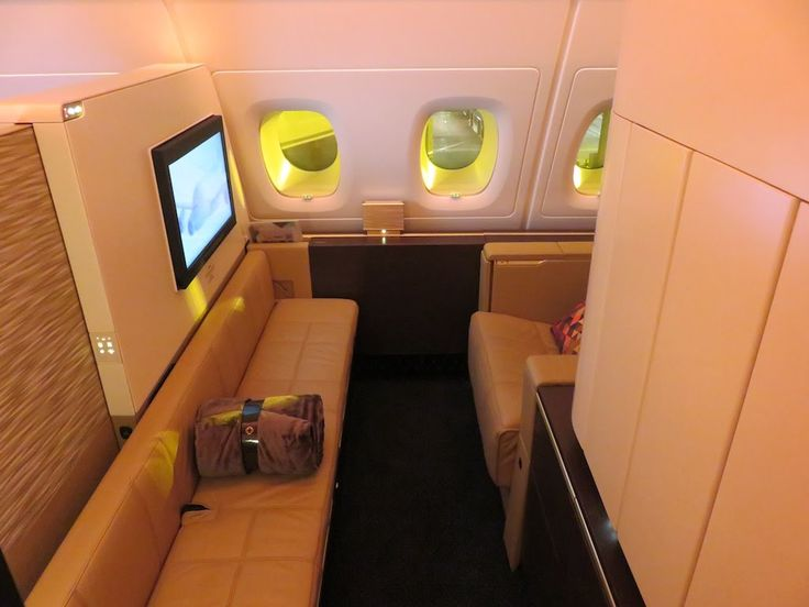 nice Etihad A380 First Class Apartment London to Abu Dhabi: MY BEST FLIGHT EVER! - video