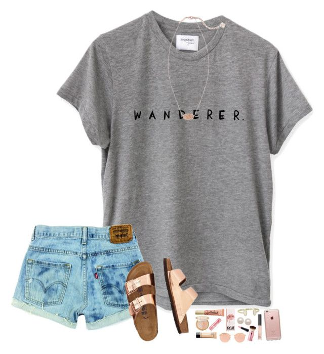 """Bet ya think I'm all alone, nah...."" by hopemarlee ❤ liked on Polyvore featuring Too Faced Cosmetics, Bobbi Brown Cosmetics, Benefit, Kendra Scott, Honora, Ray-Ban, NARS Cosmetics, MAC Cosmetics, TravelSmith and Incase"