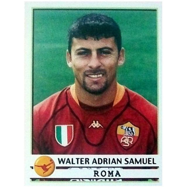 Walter #Samuel #Roma 2001/02