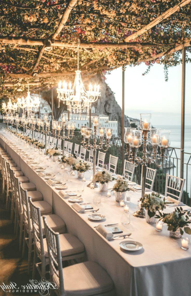 Luxus Amalfi Kuste Hochzeit Tabelle Dekor Tischdekoration Hochzeit Hochzeit Beleuchtung Hochzeit Tischdekorartion