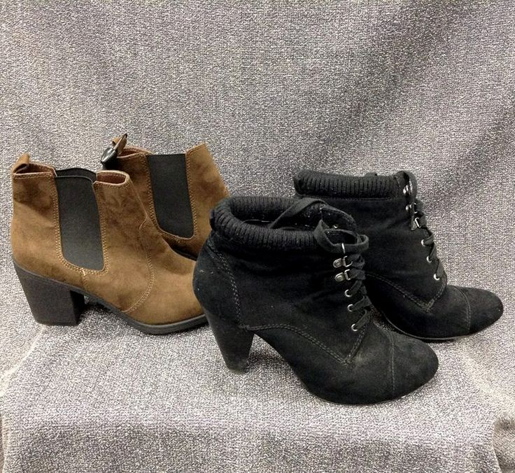 Ankle booties are great any time of the year & #PlatosNewmarket has an awesome selection - Shop our closet today! | www.platosclosetnewmarket.com