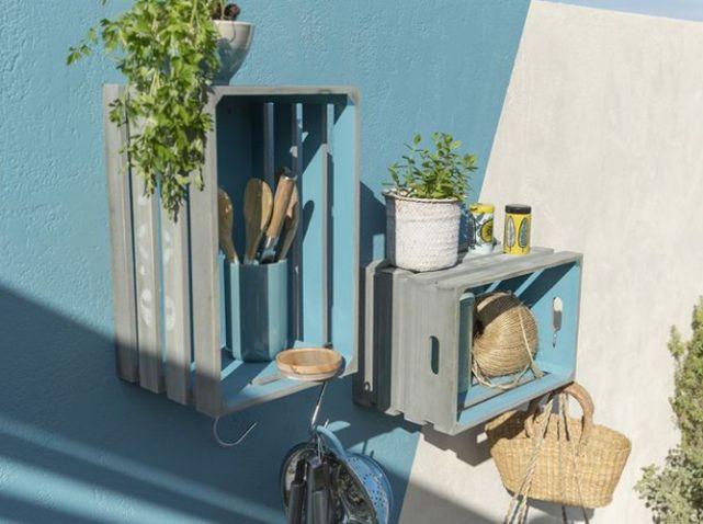 Cagette etagere terrasse