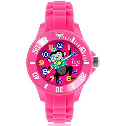 ICE WATCH PARA NIÑOS Ice-Watch dispone también de relojes de tamaño más pequeño ideales para niños, como el modelo que aquí os proponemos de niña, en color rosa y con un simpático monito en la esfera. Es resistente al agua 100 metros por lo que es ideal de cara al verano: http://www.todo-relojes.com/detalle.asp?codigo=29753 #IceWatch #relojesniño