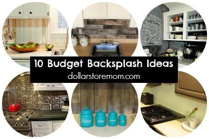 10 Budget-Friendly Kitchen Backsplash Ideas