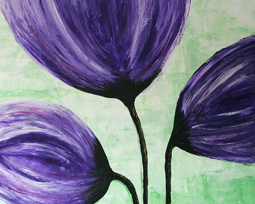 Arleta Adamska, Wiosenne tulipany, 120x80 cm, aadamska.pl