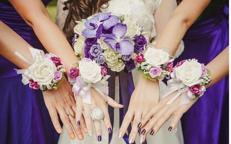Картинки по запросу свадебные браслеты для подружек невесты своими руками
