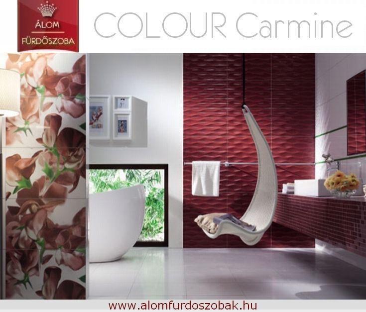♥ Colour Carmine kollekció ♥ Árkategória: Kiváló ár/érték arány ☺ További info, akciós árak itt: http://alomfurdoszobak.hu/hu/content/4-kapcsolat