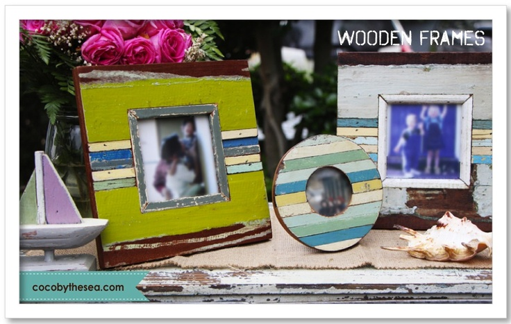 Frames - COCO BY THE SEA.  www.cocobythesea.com coastal and nautical decorations/accessories