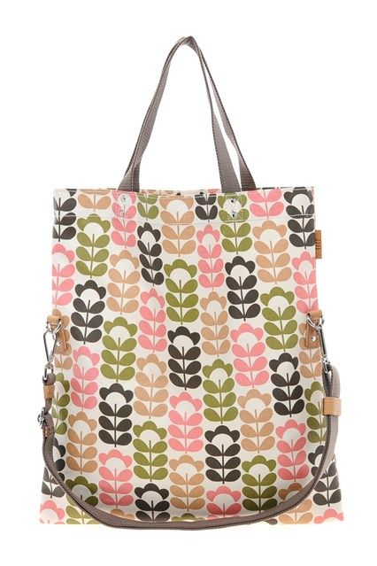 Orla Kiely From the doyenne of everyday chic, this large tote will fit everything from paperwork to groceries.
