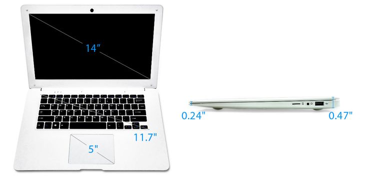 Light and Thin 64-bit ARM based Open Source Notebook