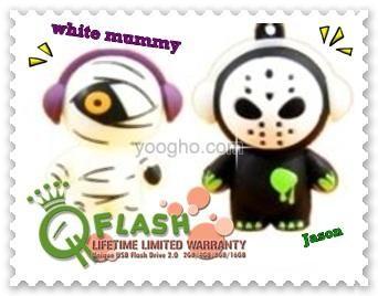 flashdisk unik dan lucu mummy vs jason