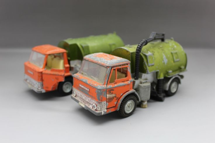 Dinky Toys Johnston Road Sweepers x2, £20.00