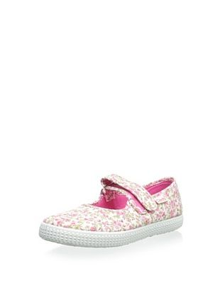 45% OFF Cienta Kid's Mary Jane (Fucsia)