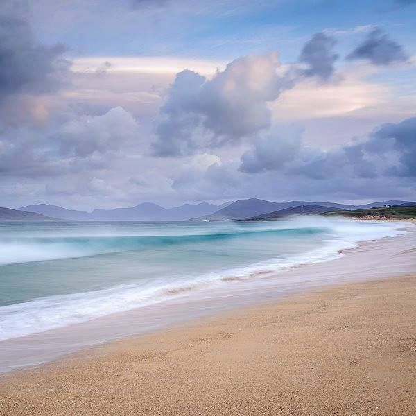 Love this view of Scarista beach on the Isle of Harris, Outer Hebrides by Dudley Williams