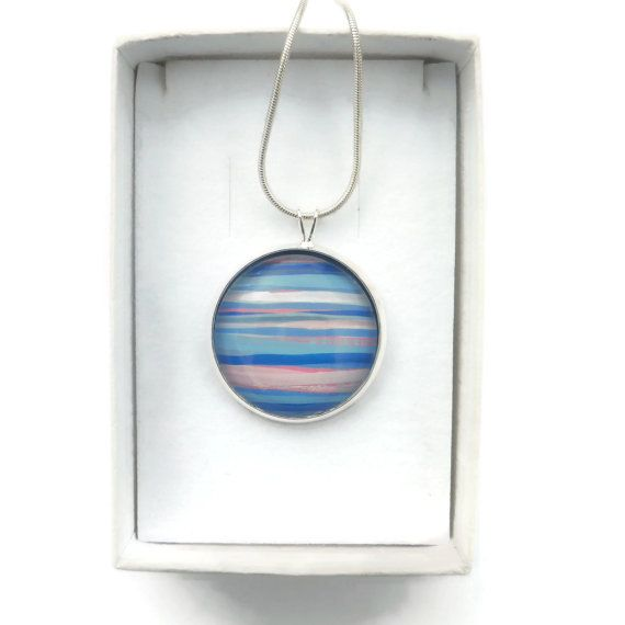 Hand Painted Jewelry Unique Jewelry Gift For Her Hand
