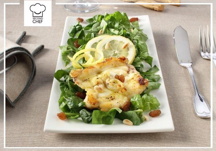 Il pesce non può mancare in una dieta salutare! Per questo #Second_Chef ti presenta la sua Coda di rospo con spinacino. Provala! La #ricetta la trovi qui http://rebrand.ly/codadirospo  #incucinaconsecondchef #lericettedisecondchef #iltuomenù #ricette #food #cucina #food