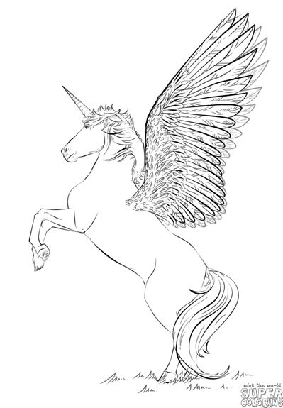 Unicorn Pictures For Kids Realistic