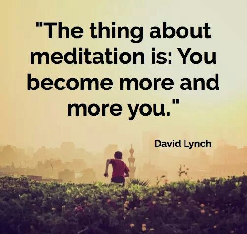 The best times in my life have been meditation inspired <3