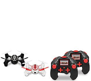 Nexus Set of 2 Battle Drones Onboard Camera Extra Batteries SD Card, Remote