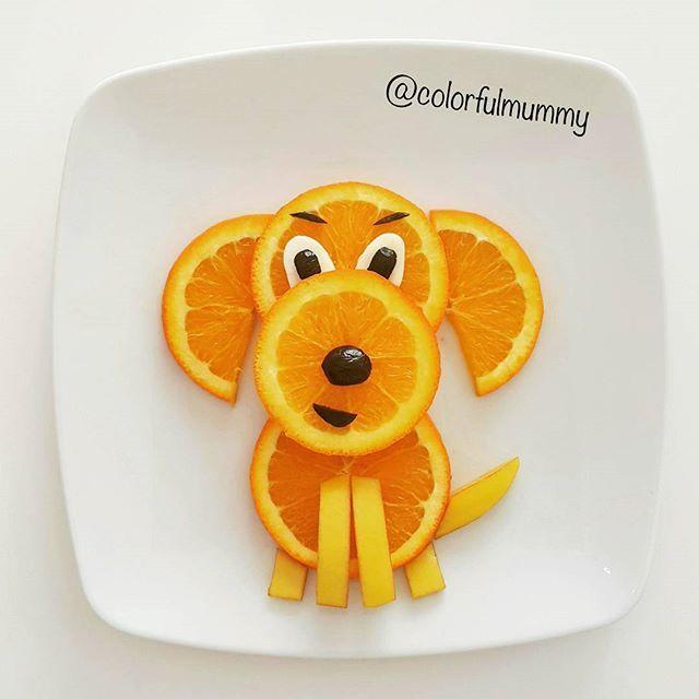 Orange Food for kids Апельсин Еда для детей