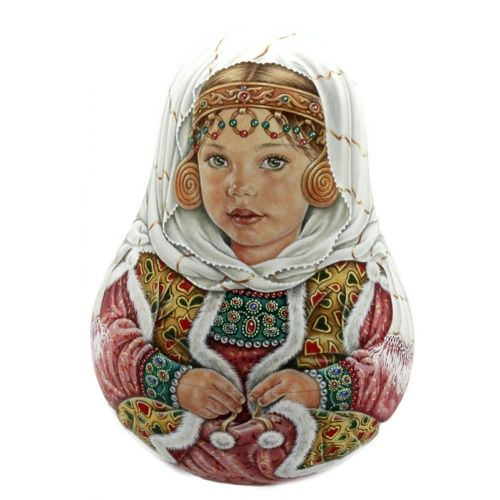Little Princess Roly Poly Unique Russian Toy