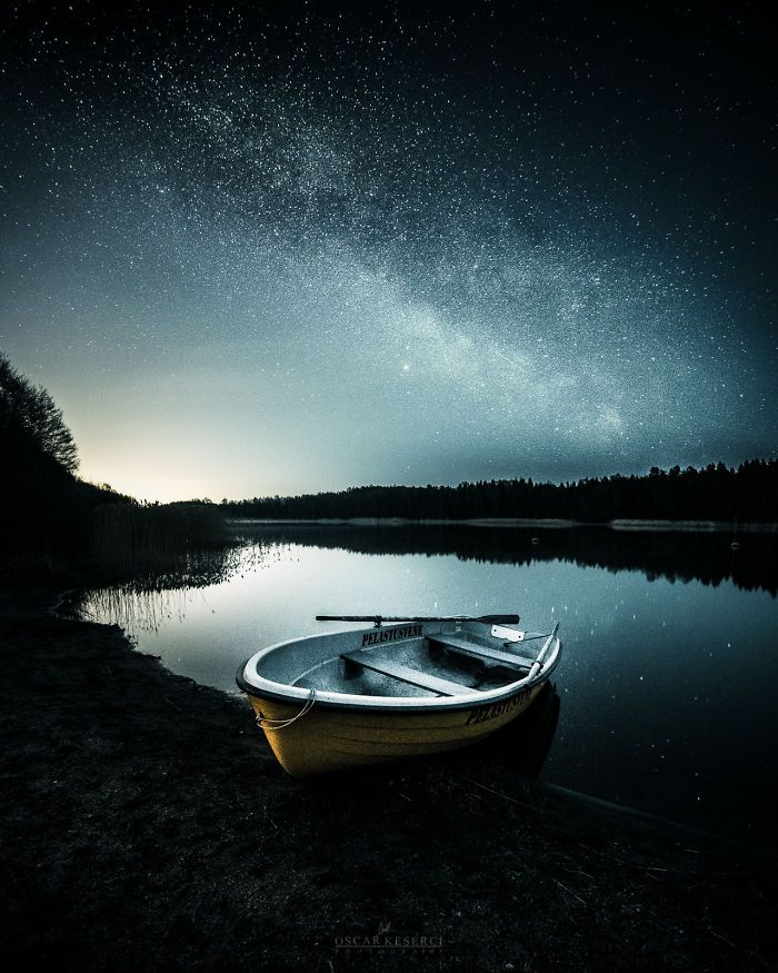 'Memories' photography of the night sky in Finland by Oscar Keserci Photography on bored panda