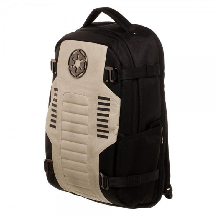 Sandtroopers need backpacks and this is perfect for them, leathery effect vinyl, looks slightly worn from all that sand and desert. Orange markings on top of adjustable straps. #star #wars #starwars #SW #shoretrooper #sandtrooper #stormtrooper #cool #awesome #funny #sweet #funny #nerd #nerdy #fashion #girl #girly #scifi #sciencefiction #space #fiction #movie #movies #geek #geeky